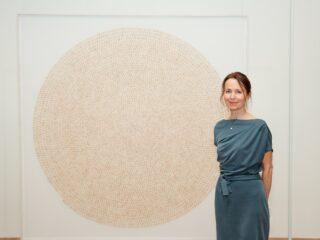 Gabriela Maria Müller, Premio Artista Bally 2019, cerimonia premiazione al LAC, davanti al Coeur Sacrés