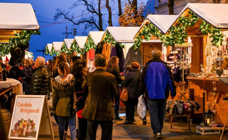 Natale mercatino Lugano